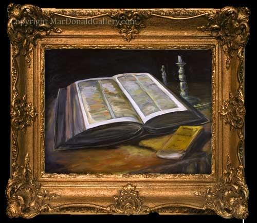 Van-Gogh-Bible-framed-500